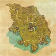 Pathfinder World Map by Tes Online Map Of Grahtwood