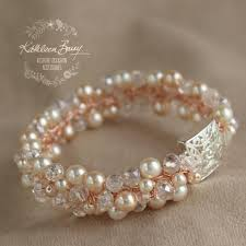 rose gold bracelet with pearls images Bracelets wedding bridal accessories jewellery online shop rose jpg