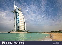 the burj al arab hotel dubai stock photo royalty free image