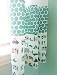 Diy Nursery Curtains I D To Make This For Using Navy Blue The Dot Pattern