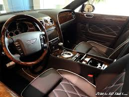 bentley interior black bentley flying spur with black leather interior db 5 pinterest