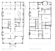 large home plans american foursquare floor plans search house design