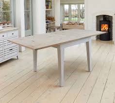 Limed Oak Kitchen Table Signature Painted Grey Limed Oak Top Extendable Square Dining Table