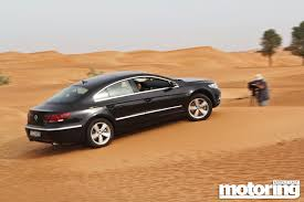 peugeot uae we go dune bashing in a vw cc video motoring middle east car