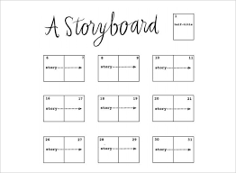 movie storyboard free sample example format download powerpoint