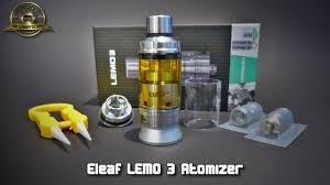 Eleaf Lemo Drop Rdta Rebuildable Atomizer 2 7ml eleaf lemo 3 atomizer