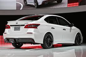 nissan sentra sv 2015 nissan sentra nismo concept debuts with 240 hp turbo i 4 motor