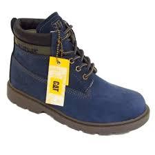 womens caterpillar boots uk womens caterpillar cat midnight blue colorado plus nubuck leather