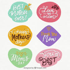 mother day quote mother s day quote stickers vector free download