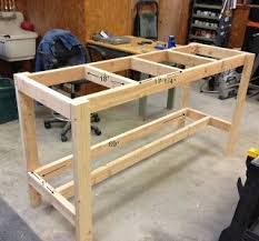 Simple Wooden Bench Design Plans by Best 25 Garage Workbench Ideas On Pinterest Workbench Ideas