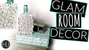 Glam Bedroom Decor Diy Modern Glam Room Decor Diy Decor On A Budget Youtube