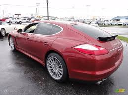Porsche Panamera Red - 2011 ruby red metallic porsche panamera 4s 56873586 photo 9
