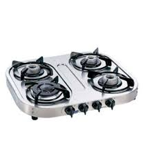 Prestige Cooktop 4 Burner Prestige Marvel Plus Gtm 04 Ss 4 Burner Glass Manual Gas Stove