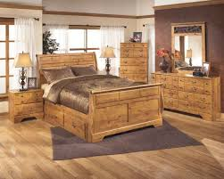 Sleigh Bed Set Furniture Bittersweet 7 Country Sleigh Bed Set