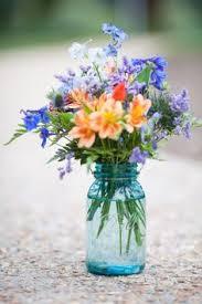 jar arrangements jam jar wedding centerpieces search pinteres