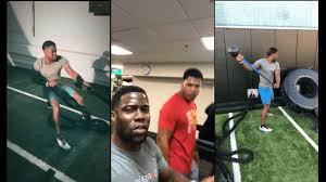 kevin hart do the pre thanksgiving work out