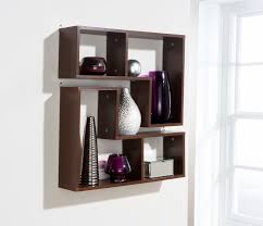 full wall shelving home decor
