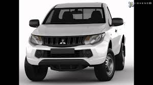 triton mitsubishi 2016 mitsubishi l200 triton 2015 single cab 3d model from creativecrash