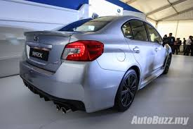 subaru malaysia 2016 new look subaru wrx u0026 wrx sti launched from rm238k video