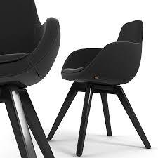 chair black 3d model