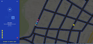 G Maps Google U0027s Pac Maps Gets April Fools U0027 Ball Rolling Early Turns