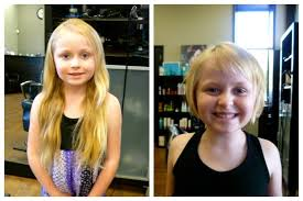 cut and inch off hair my 6 year old daughter cut off over 13 inches of her hair to