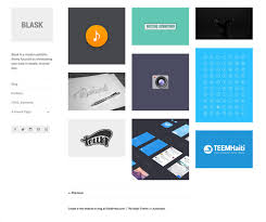 new theme blask u2014 the wordpress com blog