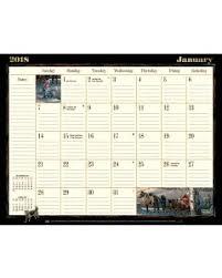 desk calendar pads 2018 desk blotter calendars lang