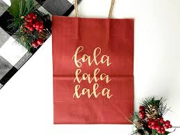christmas gift bags gift bags lettered gift bags lettered