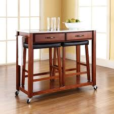 Kitchen Island With Bench Seating Kitchen Island Kitchen Island On Wheels Intended For Flawless