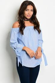 light blue off the shoulder top light blue off the shoulder top shoulder urban chic style and