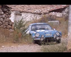 renault alpine a110 rally alpine a110 1962 to 1973 road and racing version