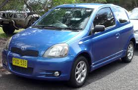 car picker blue toyota echo