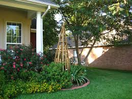 a shower fresh garden pyramid trellis