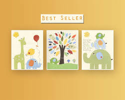 Jungle Nursery Wall Decor Nursery Decor Baby Room Nursery Wall Nursery