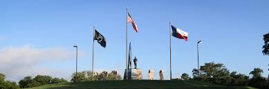 State Flag Of Texas Veterans Memorial Park City Of Cedar Park Texas