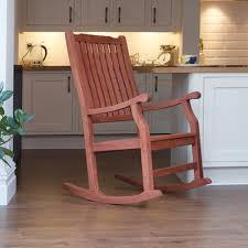 Oak Rocking Chair Uk Trueshopping Wellwood Large Rocking Chair Classic Design Fsc