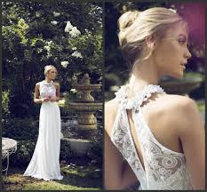 halter neck wedding dresses discount halter neck wedding dresses 2018 handmade flowers white