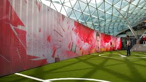 my time is now comes to life at the nike football stadium in share image