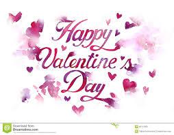 hand draw illustration happy valentine u0027s day stock illustration