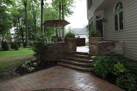Building A Raised Patio Klein U0027s Lawn U0026 Landscaping Hardscapes Patios
