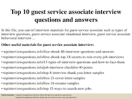 top10guestserviceassociateinterviewquestionsandanswers 150319101341 conversion gate01 thumbnail 4 jpg cb u003d1504879353
