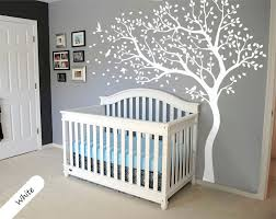 white tree wall decal tree wall decal wall mural stickers
