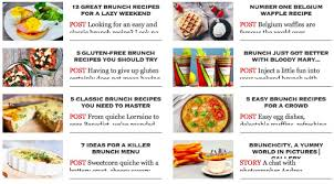 menu for brunch 5 inspired recipes for a chic brunch finedininglovers