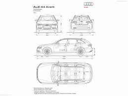 dimension audi a6 audi a4 avant 2013 picture 23 of 23