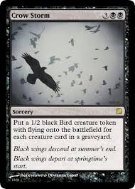 Storm Crow Meme - crow storm now with 99 9 less errors custommagic