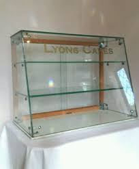 glass counter display cabinet lyons cakes glass counter top display cabinet 430594