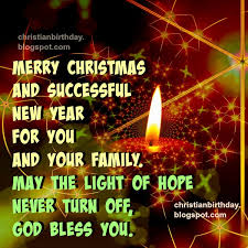 merry and successful new year for you and your family