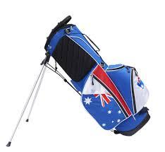 Aussie Flag Custom Golf Bags Australia Australian Flag Stand Carry Bag
