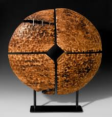 mcdougall contemporary wood sculpture